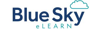 Blue Sky eLearn - Event Sponsor
